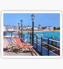 Pier days and Matinees Sticker