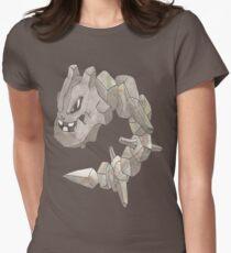 Steelix by Derek Wheatley Women's Fitted T-Shirt