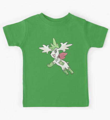 Shaymin Sky Forme by Derek Wheatley Kids Clothes
