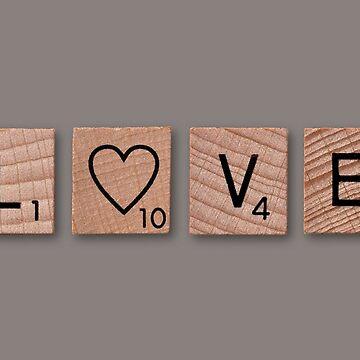 Love scrabble by Jarivip