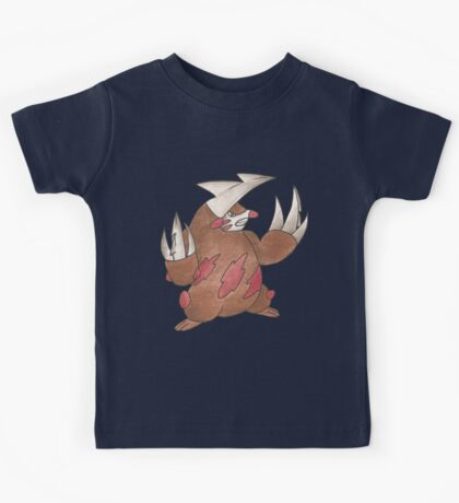 Excadrill by Derek Wheatley Kids Clothes