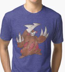 Excadrill by Derek Wheatley Tri-blend T-Shirt