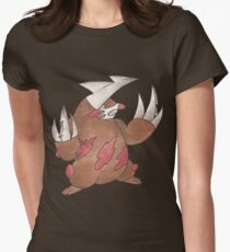 Excadrill by Derek Wheatley Women's Fitted T-Shirt