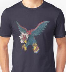 Braviary by Derek Wheatley Unisex T-Shirt