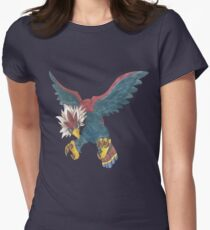 Braviary by Derek Wheatley Women's Fitted T-Shirt