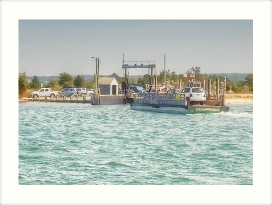 On Time Ferry by Nigel Fletcher-Jones