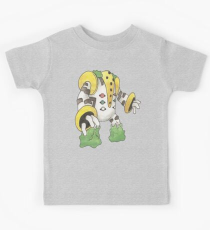 Regigigas by Derek Wheatley Kids Clothes