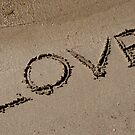 Love Written on the Sand by MaluC