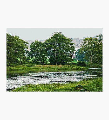 Beautiful Pennsylvania Lake Photographic Print