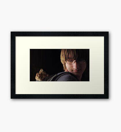 Papoose Framed Print