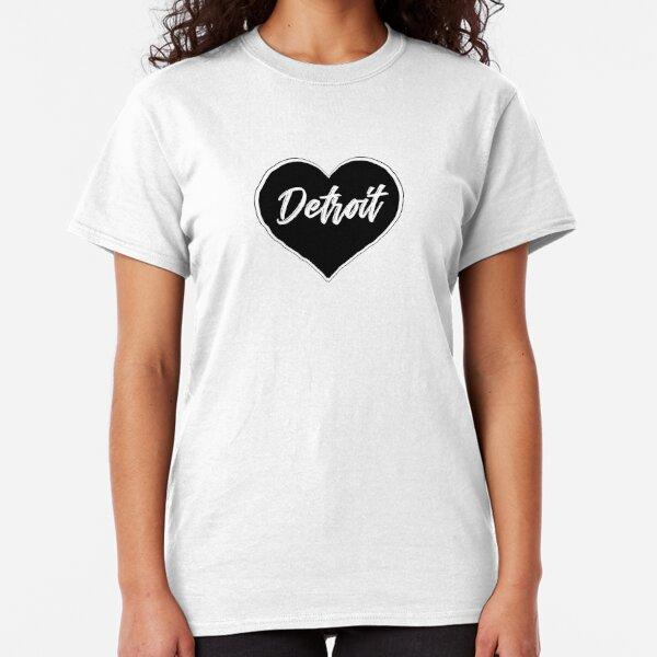 Detroit - Black Heart Edition Classic T-Shirt