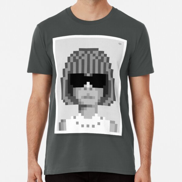 Her bob — Mono Premium T-Shirt