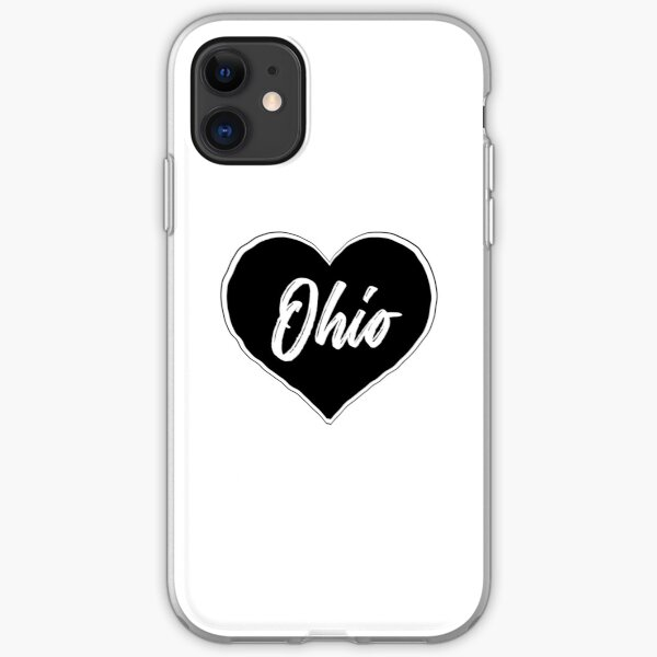 Ohio - Black Heart Edition iPhone Soft Case