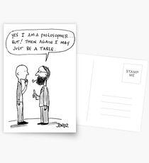 philosophy for fools Postkarten