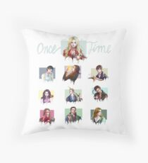Once Upon a Time Characters Throw Pillow