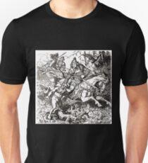 Johannes Gehrts Dietrich fängt den Zwerg Alfrich by Johannes Gehrts Unisex T-Shirt