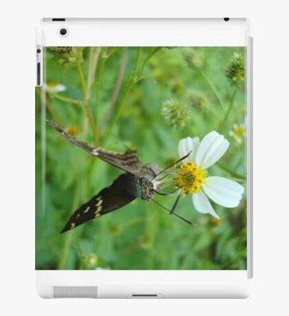 Long-tailed Blue Skipper on Spanish Needles iPad Case/Skin
