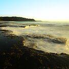 White Wash - Bateau Bay Beach by Jacob Jackson