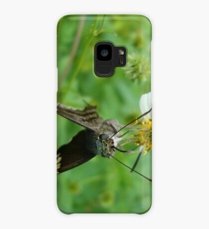 Long-tailed Blue Skipper on Spanish Needles Case/Skin for Samsung Galaxy