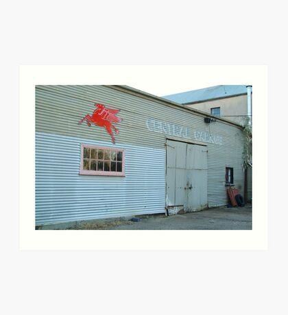 Clunes Garage Art Print