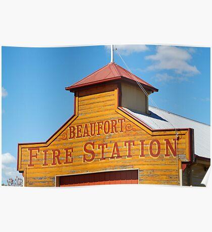 Beaufort Fire Station Poster