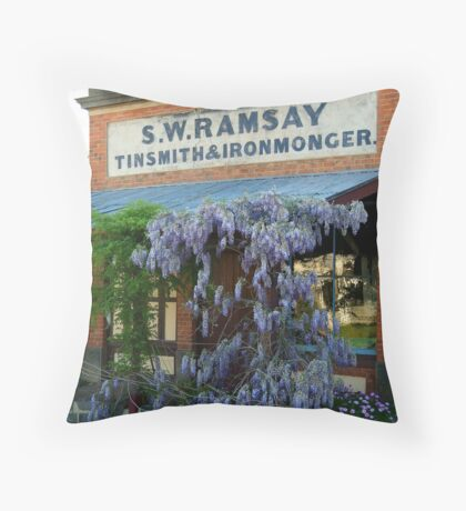 Ramsey Ironmonger Throw Pillow
