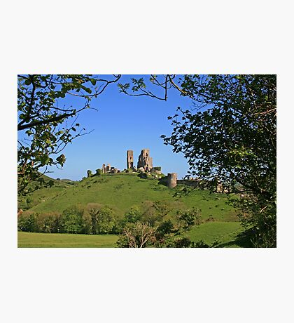 Corfe's Been Framed Photographic Print