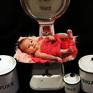 Newborn May by Sharon Robertson