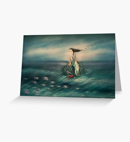 my heart is captured Greeting Card