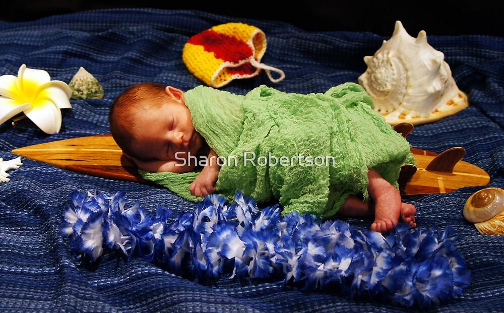 Newborn October by Sharon Robertson