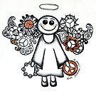 Peace Angel by Lisafrancesjudd