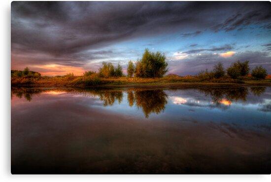 Between Calm by Bob Larson