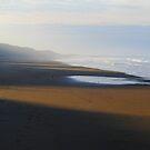 October Twilight : Saltburn Beach  by Ian Alex Blease