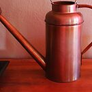 Copper Watering Can by Lorin Richter