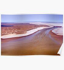 Lake Eyre, Outback South Australia 516 Poster