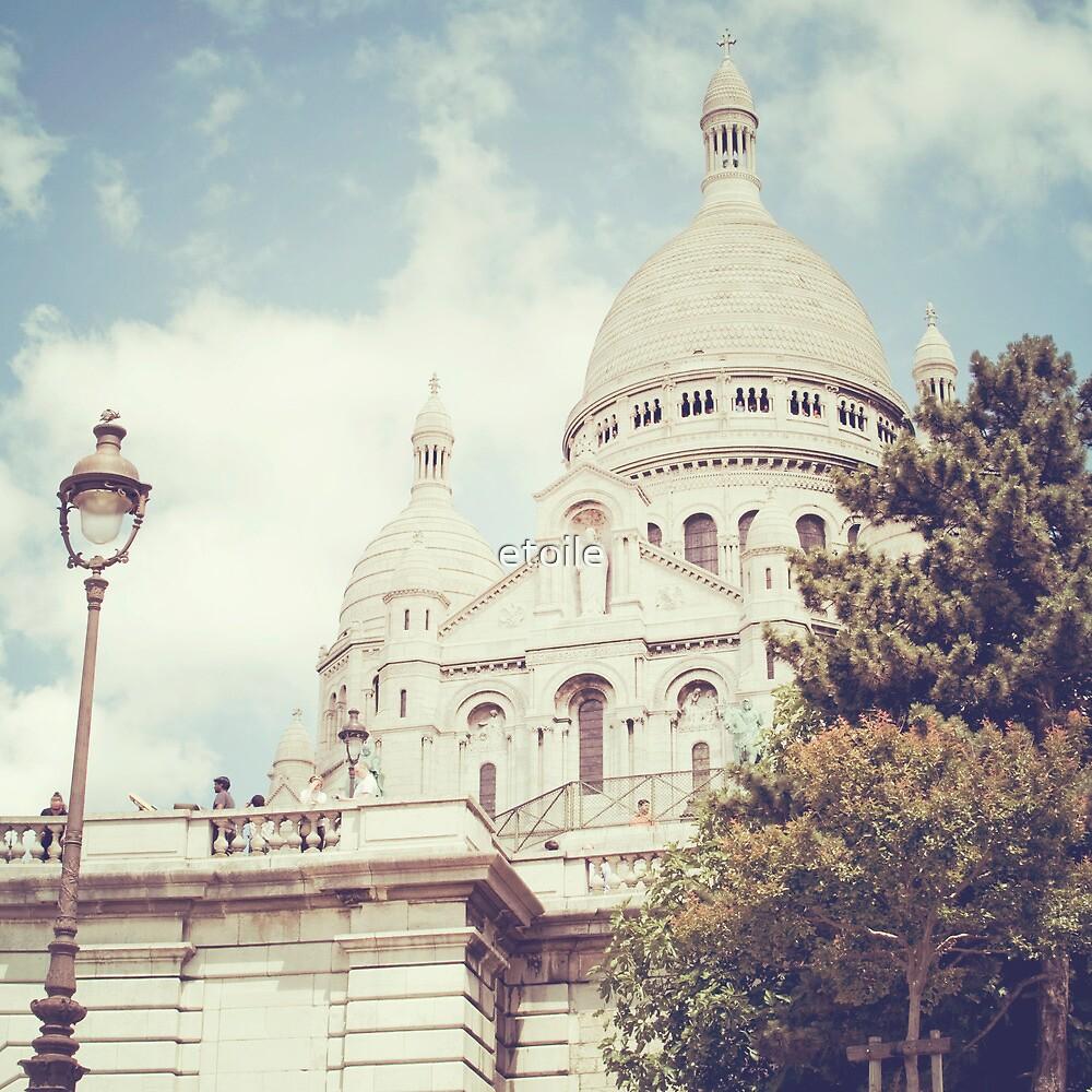 sacre coeur, paris by etoile