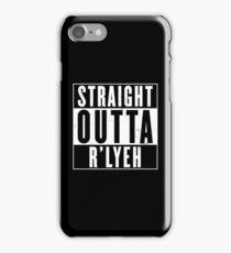 Straight Outta R'lyeh iPhone Case/Skin