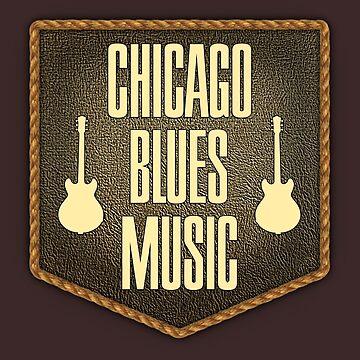 Chicago Blues Music by monafar