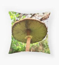 Under the Cap Throw Pillow