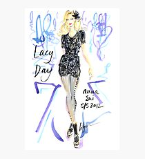 Lacy Day! Photographic Print