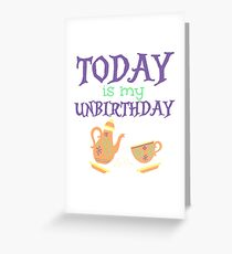Unbirthday Greeting Card