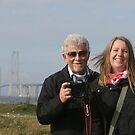 Hello, friends.......... from the Great Belt Bridge by Brenda Dow