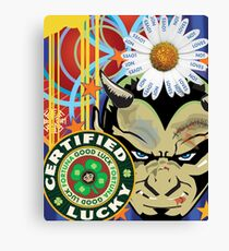 Lucky Devil Canvas Print