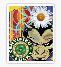 Lucky Devil Sticker