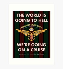 The World Is Going To Hell... Art Print