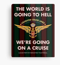 The World Is Going To Hell... Metal Print