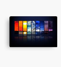 Spectrum of the Sky (wider version) Canvas Print