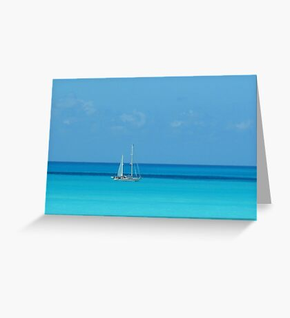 In the Distance Greeting Card
