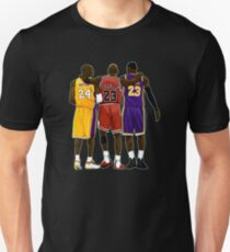 Kobe Michael Lebron Together Slim Fit T-Shirt