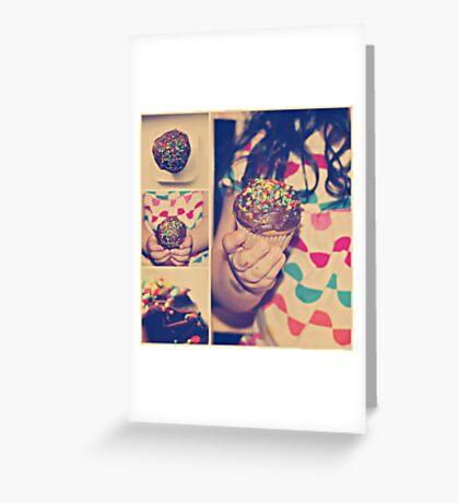 cupcake. Greeting Card